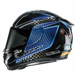 HJC RPHA 11 Carbon Motorbike Full Face Helmet Disney Jackson Storm + Smoke Visor
