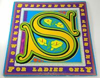 STEPPENWOLF For Ladies Only VINYL LP record Dunhill/ABC 1st US ed.1971 album VG+
