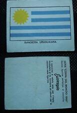 ***COPPA DEL MONDO 1966*** ED. FERRERO - BANDIERA URUGUAIANA !!!