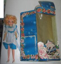 Bambola Lulù L'angelo dei fiori Polistil abitino azzurro NO FIORE Hong Kong