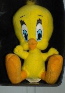 "✨✨Classic Stuffed TWEETY BIRD  Looney Tunes Warner Bros 8"" Plush Doll ✨"