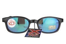 X KD's Sunglasses Original Biker Shades Motorcycle Black Color Mirror 10118