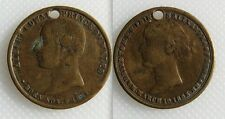 Medal/Medallion Of The Marriage Of Prince Of Wales To Princess Alexandra - Holed