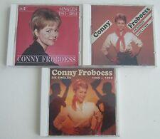 CONNY FROBOESS Die Singles 3xCD 1958-1959 1960-1962 1961-1964 Bear Family neuw.