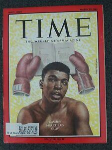 Cassius Clay - Muhammad Ali - 1963 TIME Magazine - Boxing