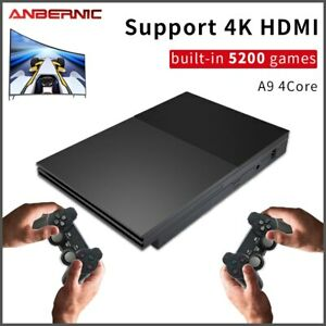 Anbernic PAP ⅡBlack Family Video Retro Game Console Built in 5200 Games Kid Gift