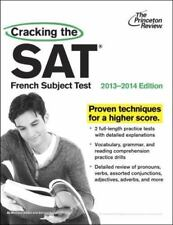 College Test Preparation: Cracking the SAT French Subject Test, 2013-2014...