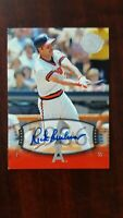 2004 UD Timeless Teams Rick Burleson Auto  SP # 253  Short Print  !