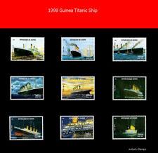 1998 Guinea Guinee Titanic Ship - MNH Complete Set