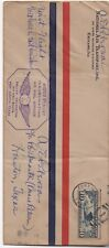 1928 US First Flight Cover from Fort Worth to Houston Texas