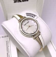 Anne Klein Watch * 2216IVGB Mother of Pearl Ivory & Gold Steel Bangle COD PayPal