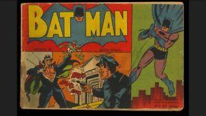 Batman #2  Comic 1954 Argentina