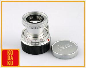 Leica Leitz Wetzlar ELMAR M mount 50mm f/2.8 Collapsible Lens