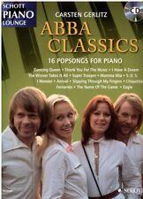 Klavier Noten : ABBA Classics mit CD - 16 Popsongs - Carsten Gerlitz