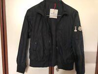 Giacca Leggera Moncler 10 Anni Nero Junior Ten Years Black Jacket