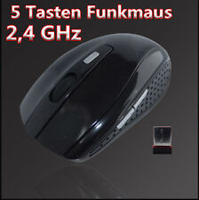 2.4 GHz USB Wireless Kabellos Optische Funkmaus Mouse Notebook PC Computer Maus
