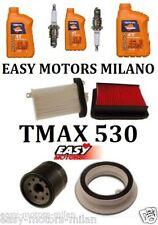 KIT TAGLIANDO YAMAHA TMAX T MAX 530 2012 2013 CANDELA NGK CR7E +FILTRO ARIA OLIO