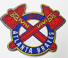 LOT OF (1) MLB BASEBALL ATLANTA BRAVES EMBROIDERED PATCH PATCHES (TYPE C) # 54