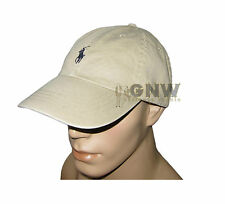 Polo Ralph Lauren Mens Womens Classic Signature Pony Sports Cap Baseball Hat  Khaki 6a2bcfa82ff5