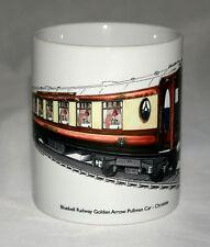 Railway Mug. Bluebell Railway - Pullman Car Christine - illustration.