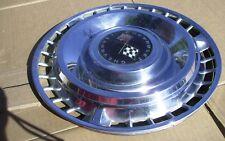 "1961 Chevrolet 14"" Hub Cap Cross Flags Wheel covers Lot of 2"