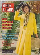 APRIL 1980 MODES DE PARIS vintage FRENCH fashion magazine