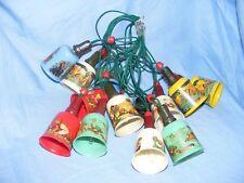 Vintage Disney Mazda Christmas Snow White Plastic Tree Decoration Lights Working