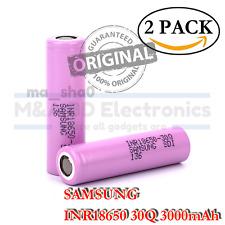 2x Samsung INR18650-30Q 3000mAh Rechargeable Battery for KangerTech Vape Mods