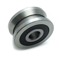 US Stock LV20/8 V Groove 8 x 30 x 14mm Ball Track Roller Guide Vgroove Bearing