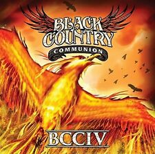 BLACK COUNTRY COMMUNION BCCIV CD - NEW RELEASE SEPTEMBER 2017