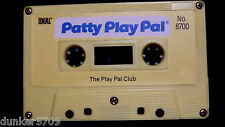 PATTY PLAY PAL DOLL AUDIO CASSETTE TAPE THE PLAY PAL CLUB 1987 WORKS