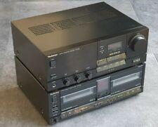 Ensemble Technics Ampli SU-X955 et Double Cassette RS-X980
