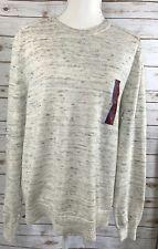 MERONA Women's Sweater Heather Gray Long Sleeve Pullover Crewneck NWT L Large