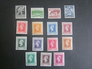 1944 Netherlands complete set Queen - LONDON excile MNH/MH
