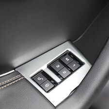 For Jaguar F-PACE 2016-2018 Interior Seat Adjust Memory Lock Switch Cover Trim