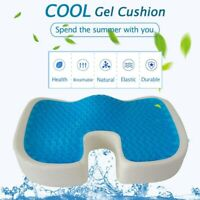 Memory Foam Office Chair Cushion & Car Seat Pillow Coccyx Orthopedic Pain Relief