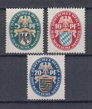 Deutsches Reich Nothilfe 1925 Michel 375/7 MNH