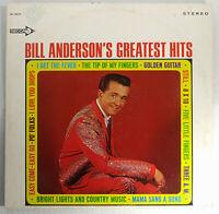Bill Anderson's Greatest Hits LP Vinyl 1967 Decca Records Stereo Vintage