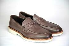 A.Testoni Men's Shoes Brown Slip ons  9 UK 10 US 43 NEW