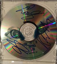 Two Door Cinema Club Tourists History Autographed Signed CD Disc COA B