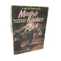 Vintage Mosby's Raiders ACW Solitaire Victory Games 1985