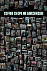 Coffee Shops Of Amsterdam Travel Photography Poster 12x18 inch