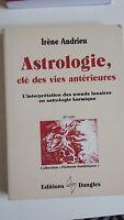 livre L'Astrologie, clé des vies antérieures