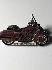 2002 Harley Davidson Biketoberfest Pin Vest Pin, Jacket Pin Hat Robison HD FLHS