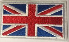 British UK Flag Iron On / Sew On Patch Badge 6.5 x 3.8cm AIRSOFT UNION JACK