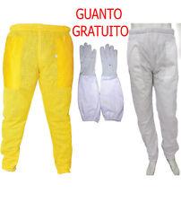 Pantaloni di ventilazione completa con 3 strati di rete    e pantaloni in cotone