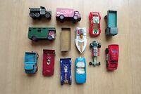 JOB LOT BUNDLE VARIOUS MATCHBOX CARS ETC x 13