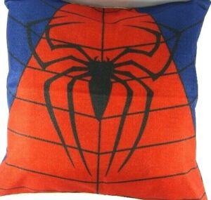 Spiderman Decorative Pillow Cover Superhero Marvel Web Red NEW Spider Blue Black