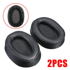 2pcs Ear Pads Cushions For Sony MDR-100ABN Charcoal Replacement Headphones AU