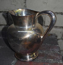 Reed & Barton Mayflower Water Pitcher Silver Silverplate 5460 Vintage